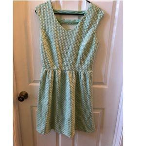 Sleeveless dress!